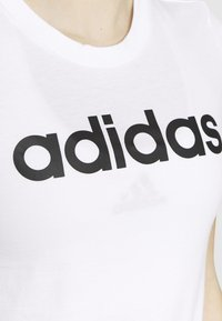 adidas Performance - Print T-shirt - white/black - 4