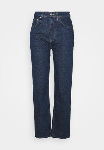HIGH WAIST - Jeans baggy - deep ocean