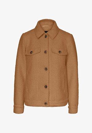 TEDDY - Summer jacket - tobacco brown