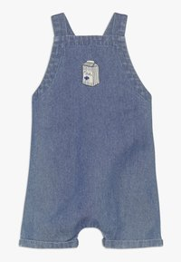 Soft Gallery - FRISCO DUNGAREES MILKY - Dungarees - denim blue - 0
