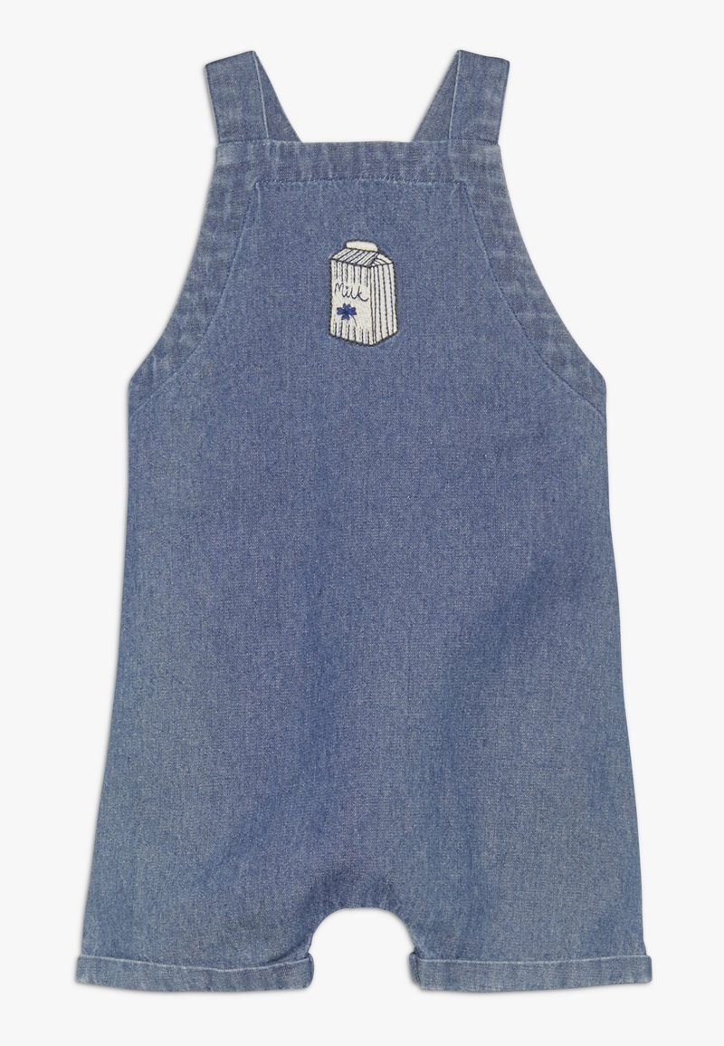 Soft Gallery - FRISCO DUNGAREES MILKY - Dungarees - denim blue