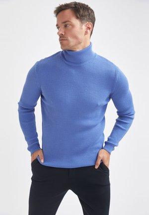 SLIM FIT - Jumper - blue