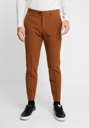 CLUB PANTS - Trousers - tobacco