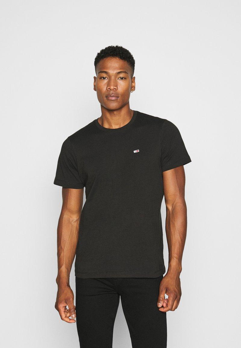 Tommy Jeans - TJM CLASSIC JERSEY C NECK - Basic T-shirt - black