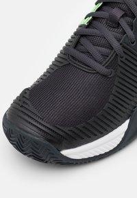 K-SWISS - EXPRESS LIGHT 2 - Clay court tennis shoes - blue graphite/soft neon green/white - 5