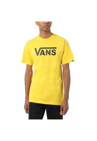 Vans - Print T-shirt - lemon chrome - 1