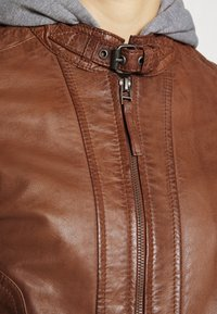 Gipsy - TALIDA - Leather jacket - cognac - 7