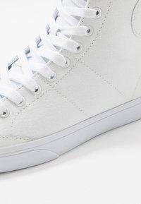 Polo Ralph Lauren - SOLOMON - Vysoké tenisky - white - 5