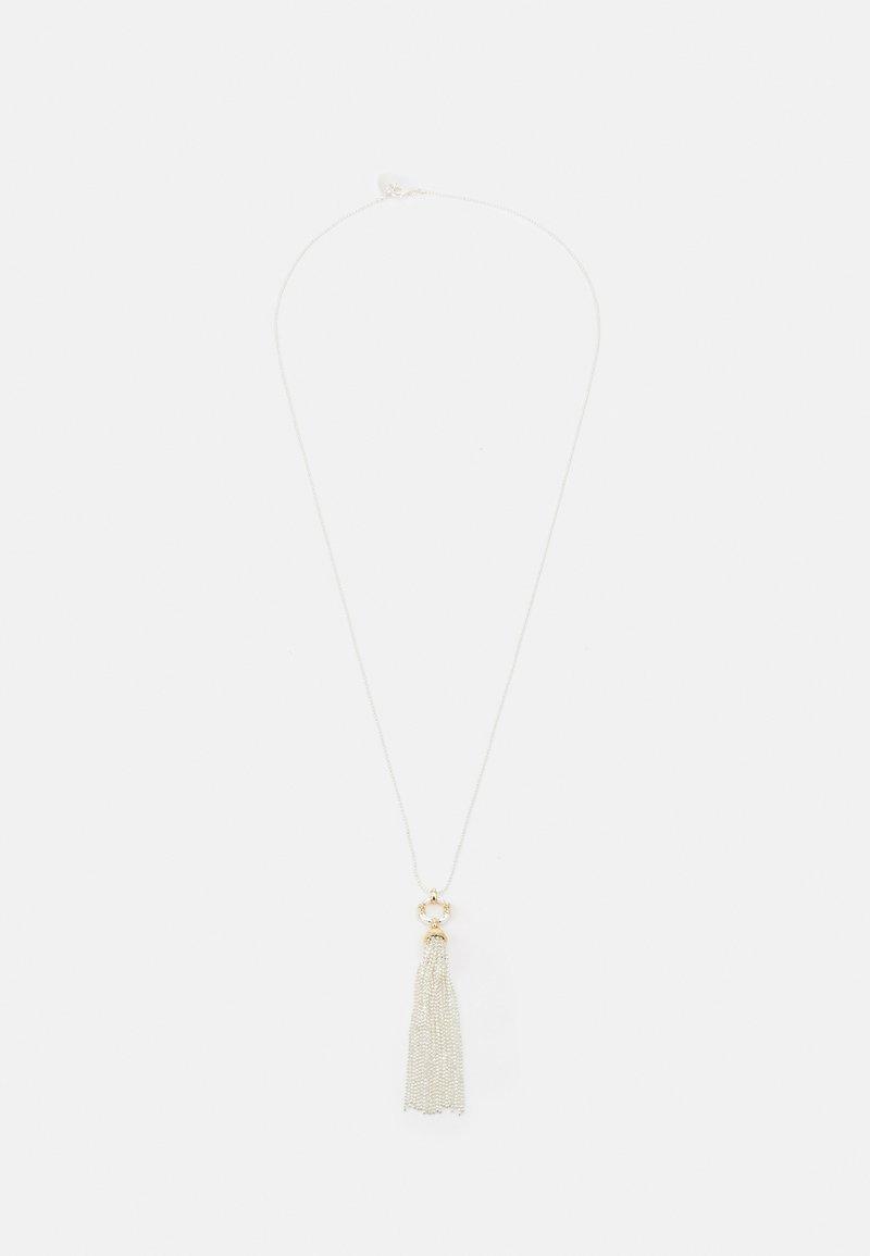 Lauren Ralph Lauren - LINK TASSEL PENDANT - Necklace - silver-coloured