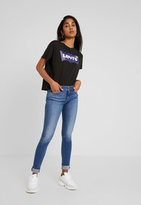 Levi's® - 710 INNOVATION SUPER SKINNY - Jeans Skinny Fit - powell face off - 1