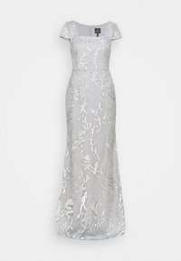 Adrianna Papell - SEQUIN EMBROIDERY MERMAID GOWN - Iltapuku - silver dove - 0