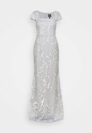 SEQUIN EMBROIDERY MERMAID GOWN - Vestido de fiesta - silver dove