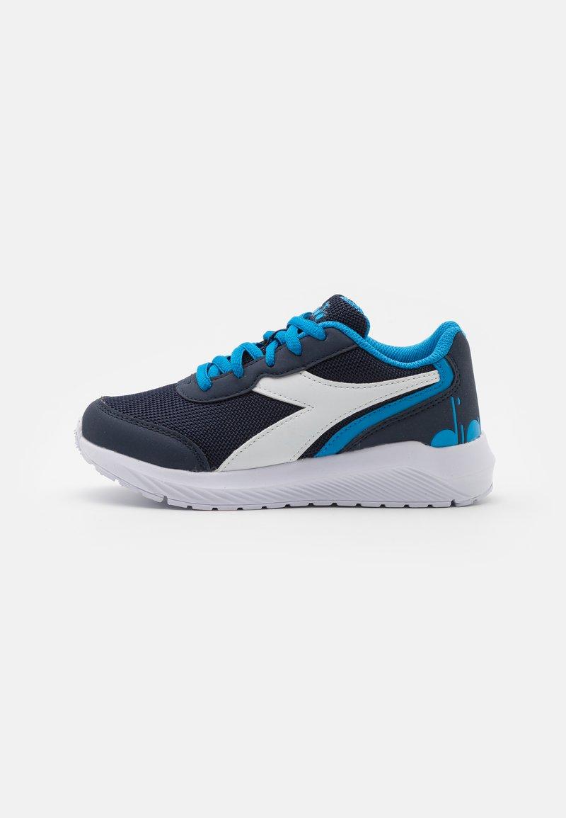 Diadora - JR UNISEX - Scarpe running neutre - estate blue/brilliant blue
