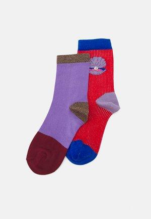 ERIKA CREW UND LIZA ANKLE 2 PACK - Ponožky - multi