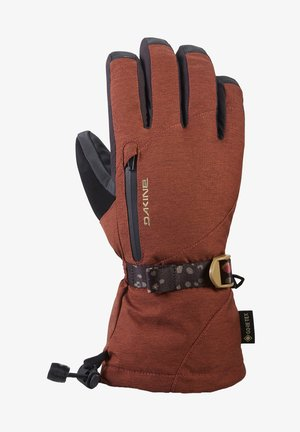 Gloves - dark rose