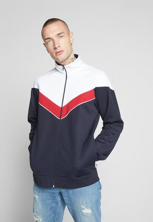 ONSSHIRO TRACK ZIP SWEAT - Zip-up hoodie - blue