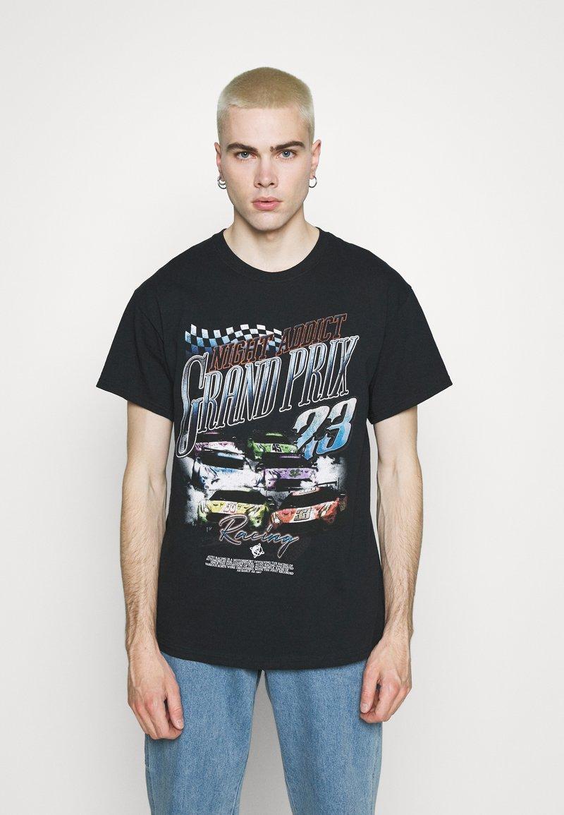 Night Addict - PRIX - T-shirt med print - black