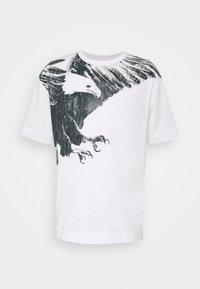 Emporio Armani - T-shirt imprimé - white - 4