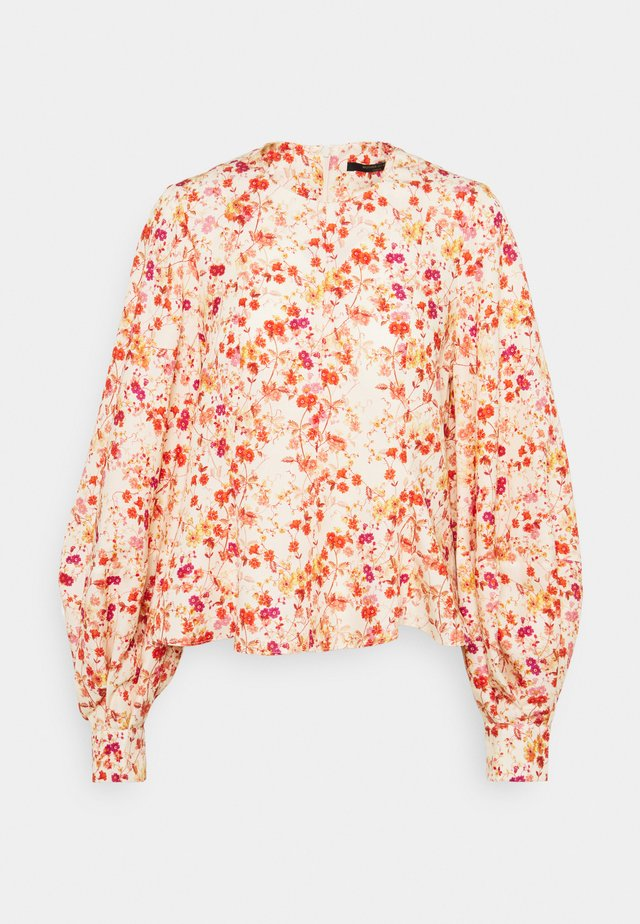 BALLOON SLEEVE - Camicetta - sepia blossom