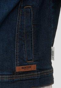 INDICODE JEANS - BRYNE - Denim jacket - dark-blue denim - 5