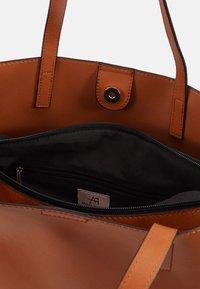 Anna Field - Tote bag - cognac - 5