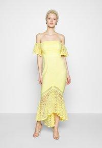 Little Mistress Tall - Společenské šaty - lemon zest - 0