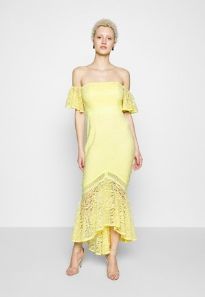 Společenské šaty - lemon zest
