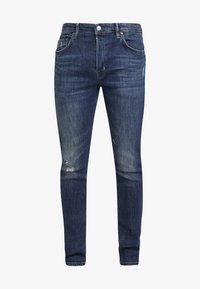 CIGARETTE DAMAGED - Slim fit jeans - indigo