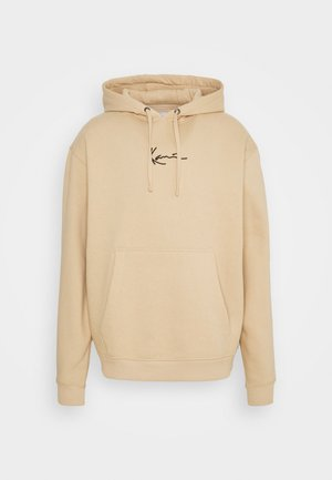 UNISEX SMALL SIGNATURE HOODY  - Sweater - sand