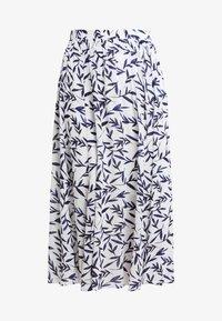 Selected Femme - SLFBREE ANKLE SKIRT - Maxi skirt - snow white - 3