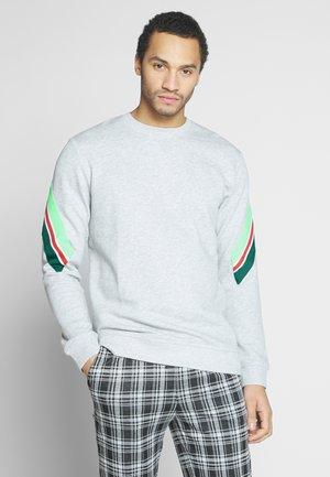 CREW NECK - Sweatshirt - light grey melange