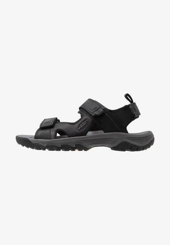 TARGHEE III OPEN TOE  - Walking sandals - black/grey