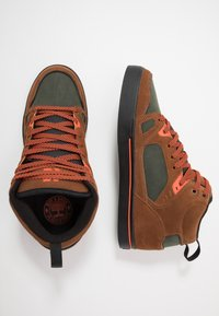 Etnies - AGRON - Skate shoes - brown/black - 1