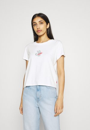 GRAPHIC SURF TEE - T-shirt con stampa - donkey baby tab white