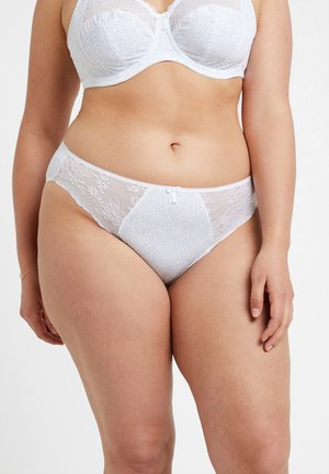 MORGAN BRIEF - Slip - white