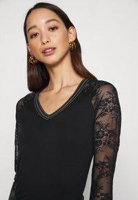 Morgan - TERRIE - Long sleeved top - noir - 3