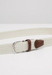 Anderson's - BELT - Braided belt - off white - 4