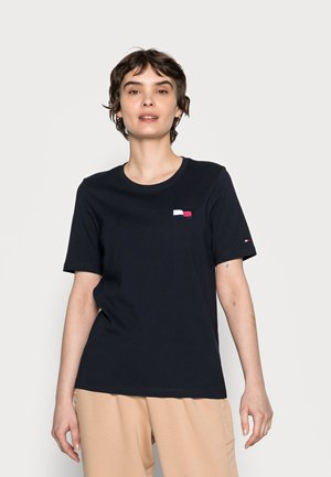 REGULAR MOTION FLAG TEE - Print T-shirt - blue