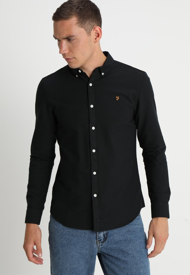 BREWER - Camisa - black ink