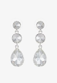 SNÖ of Sweden - NOVALIE PENDANT EAR CLEAR - Earrings - clear - 3