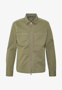 Marc O'Polo - LONG SLEEVE TWO PATCHED CHEST AND SIDE SEAM POCKETS - Summer jacket - deep lichen green - 5