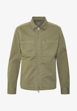 LONG SLEEVE TWO PATCHED CHEST AND SIDE SEAM POCKETS - Veste légère - deep lichen green