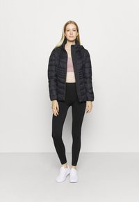 DKNY - ZIP SHORT - Training jacket - black - 1