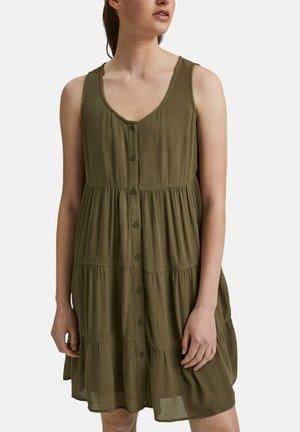 Day dress - khaki green