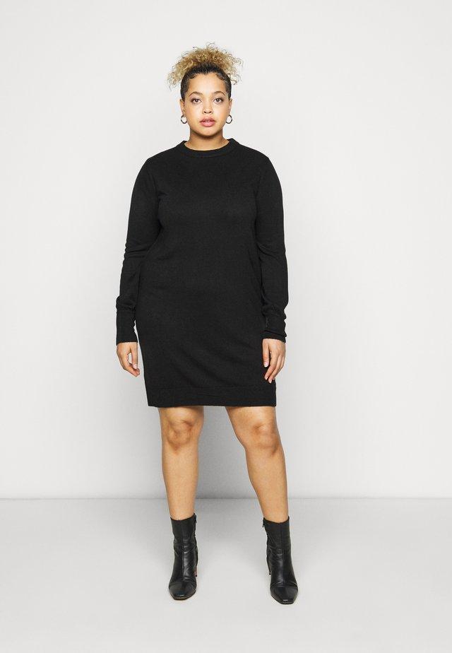 LIKE DRESS - Gebreide jurk - black