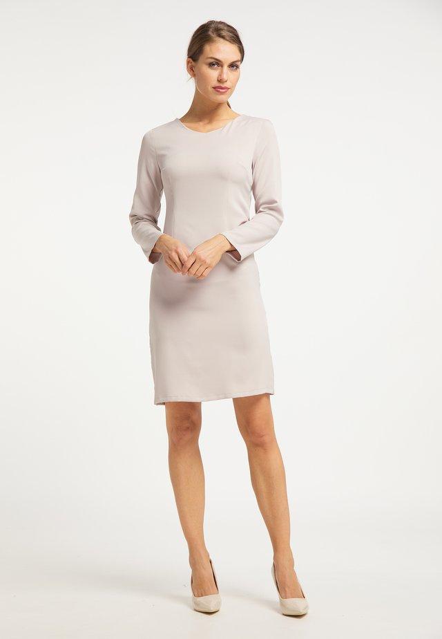 Korte jurk - grau