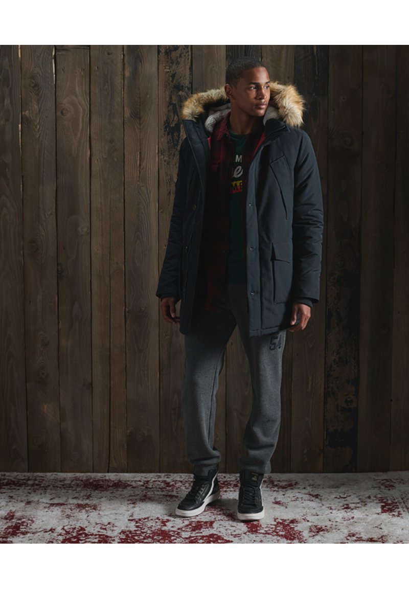 Superdry - EVEREST  - Winter coat - eclipse navy