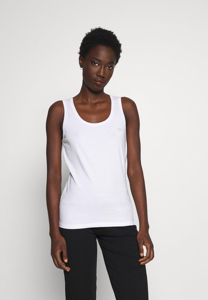 Emporio Armani - TANK - Nachtwäsche Shirt - bianco