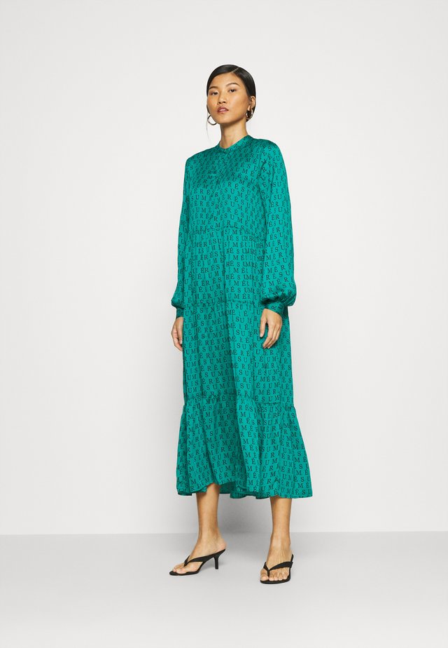 ANDREA DRESS - Maxi-jurk - ocean green