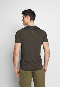 ION - TEE TRAZE - T-Shirt print - root brown - 2